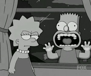 simpsons, bart, and lisa image
