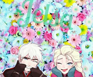 anna, flores, and jelsa image