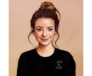 brittish, youtuber, and zoella image