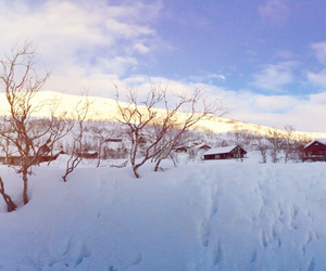 norway, beautyful, and snow image
