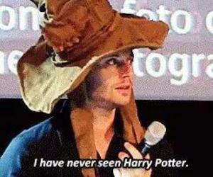 harry potter, Jensen Ackles, and spn image