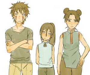 anime, tenten, and team 8 image