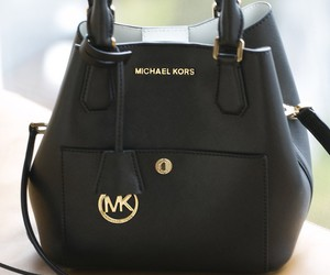 mk, bag, and black image