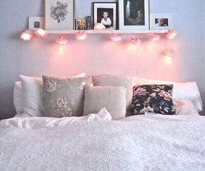 bed, cosy, and inspiration image