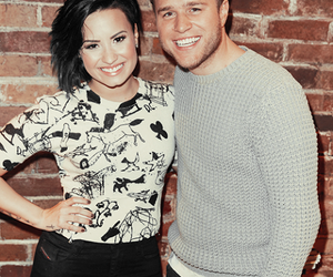 demi lovato, up, and olly murs image