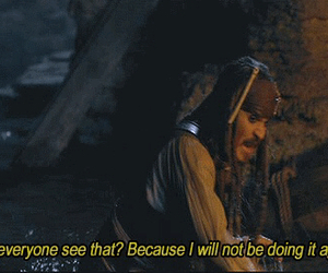 jack sparrow, johny deep, and pirates of the carribean image