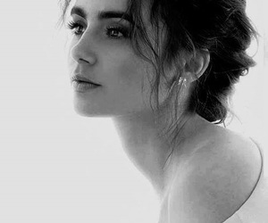 girl and lily collins image