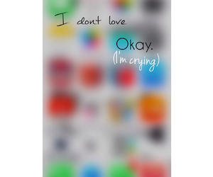apple, couple, and cry image