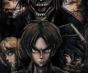 anime, armin, and titan image