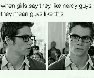 teen wolf, nerd, and dylan o'brien image