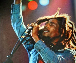 bob marley, peace, and love image