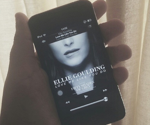 Ellie Goulding, grunge, and iphone image
