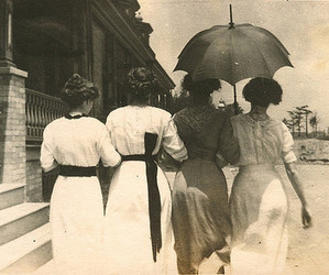 vintage, dress, and 1900s image