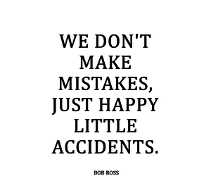 quote, accident, and happy image