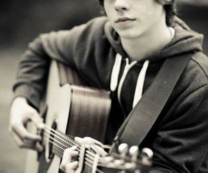 jake bugg, boy, and guitar image