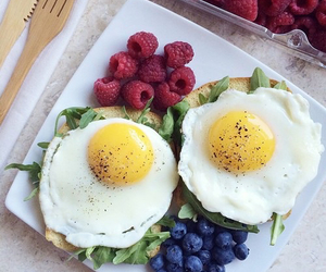 breakfast, food, and fitness image
