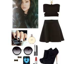 black, kylie jenner, and cute image