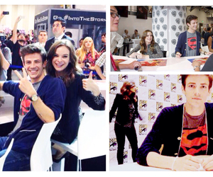 comicon, grant gustin, and caitlin snow image