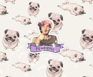 pewdiepie and pugs image
