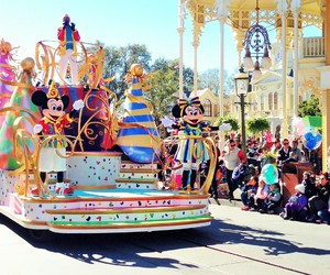 disney, mickey, and magic kingdom image
