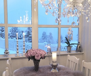 home, luxury, and flowers image