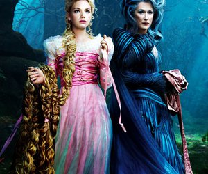 meryl streep, into the woods, and rapunzel image