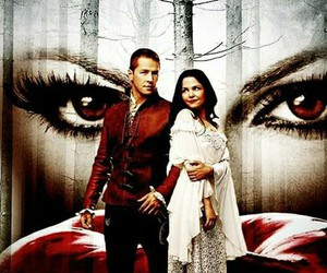 once upon a time, regina, and snow white image