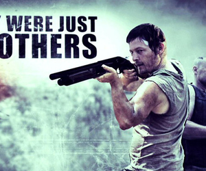 brothers, the walking dead, and dixon image