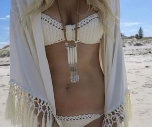lace, swimwear, and bikini image