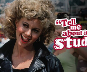 grease, Sandy, and stud image