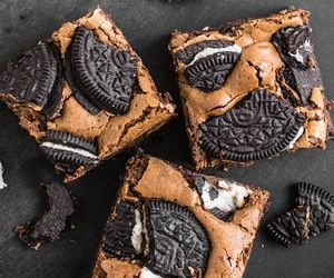 oreo, chocolate, and brownies image