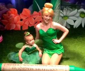 baby, disney, and tinkerbell image