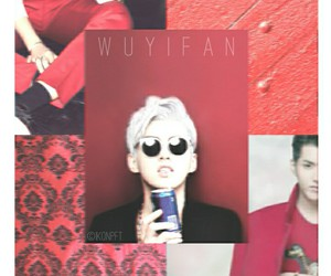 edit, wu yifan, and exo image