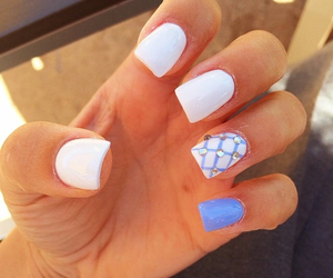 relax, white, and nails art image