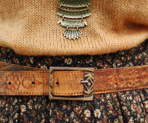 fashion, belt, and autumn image