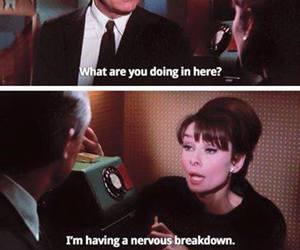 audrey hepburn, funny, and movie quotes image