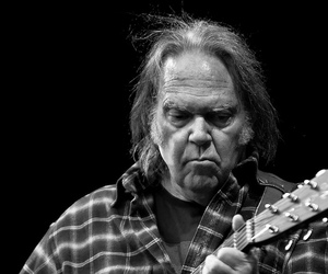 music, neil young, and rock image