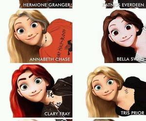 harry potter, divergent, and hermione granger image