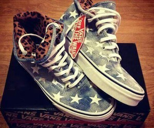 vans, shoes, and stars image