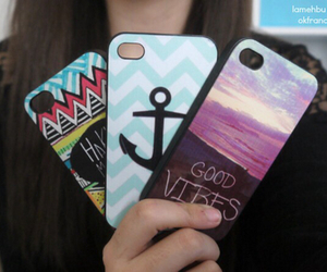 good vibes, anchor, and case image