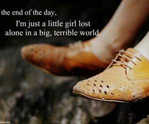 girl, letters, and quotes image