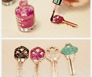 decoration, key, and diy image