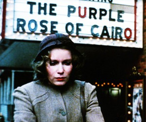 woody allen and the purple rose of cairo image