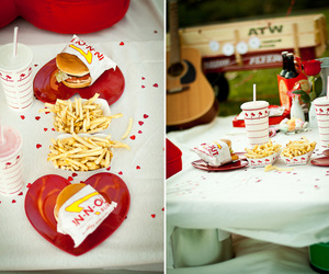 in n out, love, and valentines ideas image