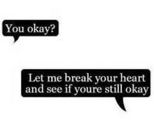 heartbroken, sad, and love image