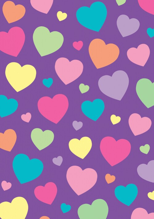Hearts In Purple Shared By Rayane Vital On We Heart It