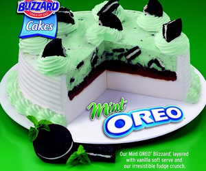 cake, Dairy Queen, and mint oreo image