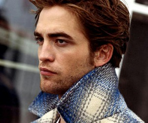 blue and robert pattinson image