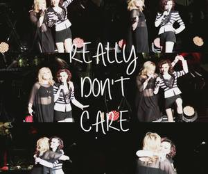 demi lovato, cher lloyd, and really don't care image