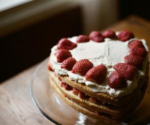 cake, tasty, and vintage image